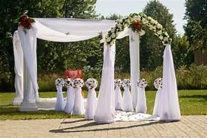 decoration pergola pour mariage With idee de decoration de jardin exterieur 3 deco tonnelle mariage