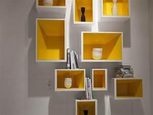Cube Mural Ikea : une lumineuse touche de jaune ~ Teatrodelosmanantiales.com Idées de Décoration