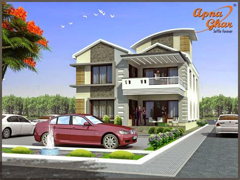 architecture house designs duplex house design apnaghar house design