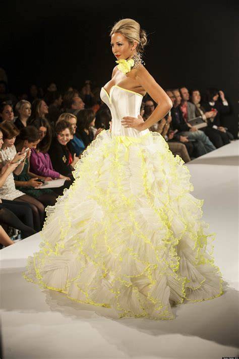 wedding dresses dress most revealing trends google ridiculous daring huffpost