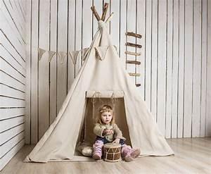 Fabriquer Tipi Enfant : comment fabriquer une tente de jeux int rieure pour vos enfants ~ Voncanada.com Idées de Décoration