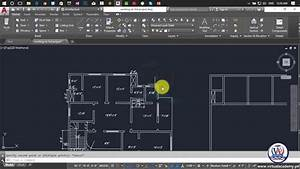 How To Make 2d Floor Plan In Autocad 2017
