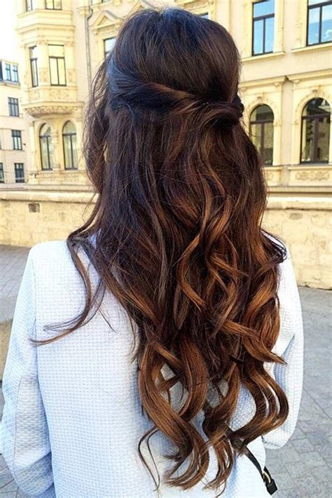 Bridesmaid Hairstyles For Hair Half Up by 30 Chic Half Up Half Bridesmaid Hairstyles Hair