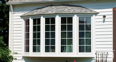 Vinyl Bow Windows Photo Gallery  Stanek Replacement Windows