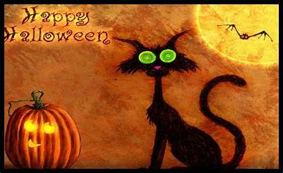 Halloween Happy Scary Wallpapers Backgrounds Cats Wallpapercave