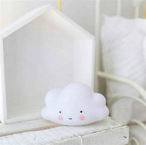 bolcom nachtlampje wolk wit voor baby en kinderkamer