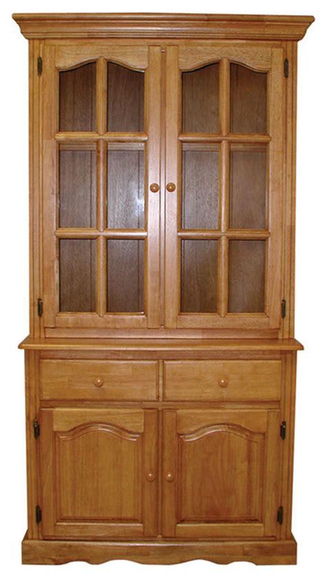 nutmeg kitchen cabinets sunset trading keepsake buffet and lighted hutch light 1119