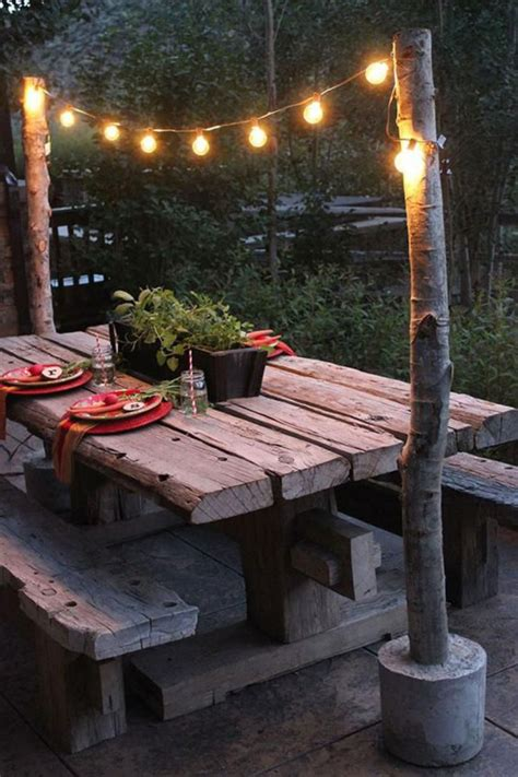 Backyard Table by Backyard Landscape 16 Amazing Diy Patio Decoration Ideas