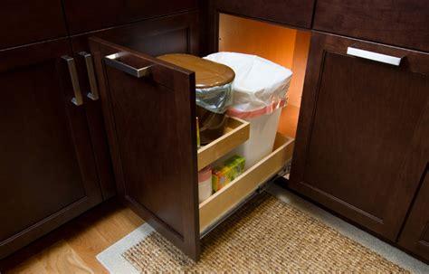 kitchen cabinet shelf risers custom roll out trash bin with riser shelf kitchen