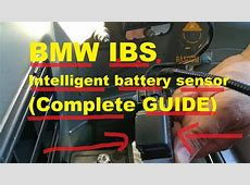 BMW NO START NO CRANK Intelligent Battery Sensor BMW IBS