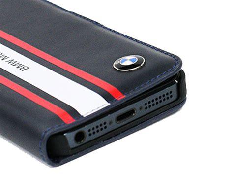 Bmw Motorsport Bookcase  Kunstleren Hoesje Voor Iphone 55s