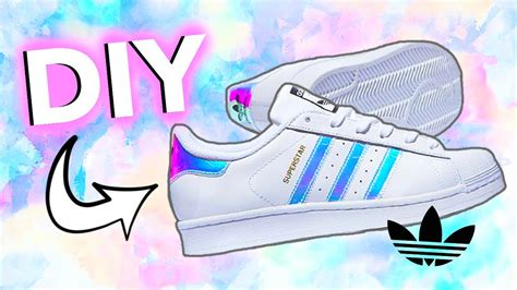 Diy Holographic/iridescent Shoes! Adidas-inspired!