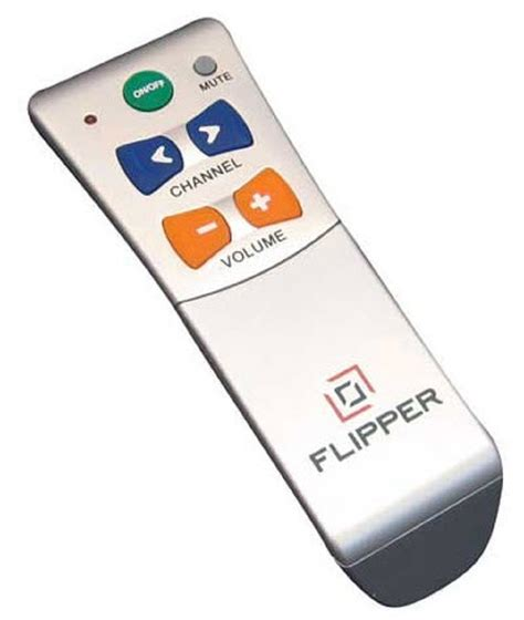flipper large button tv remote