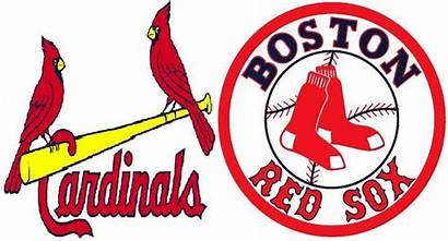 Sox Cardinals Boston Clipart Louis St Clip