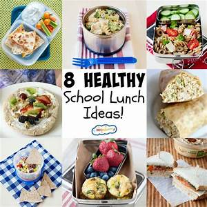 8 Healthy School Lunch Ideas - MOMables® - Good Food. Plan ...
