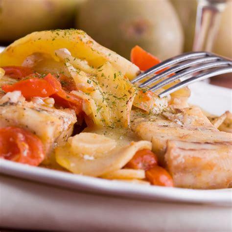 recette morue salee  la portugaise