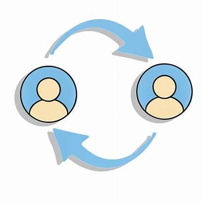 Feedback Peer Communicatie Geweldloze Communication Clipart Kommunikation