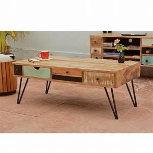Table Basse Design Bois : table basse design bois id es de d coration int rieure french decor ~ Teatrodelosmanantiales.com Idées de Décoration
