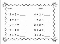 Easy 1st Grade Math Worksheets – Learning Printable