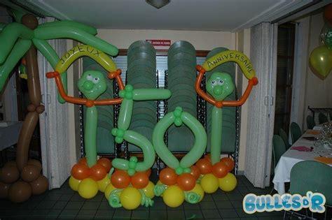 decoration anniversaire 50 ans bullesdr d 233 coration d anniversaire 50 ans en ballons illkirch 67400 alsace