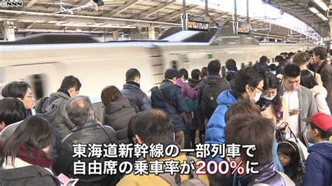 新幹線 乗車 率