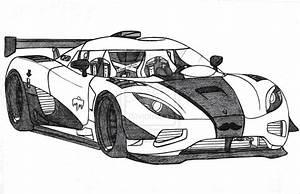 Koenigsegg Agera R Drawing