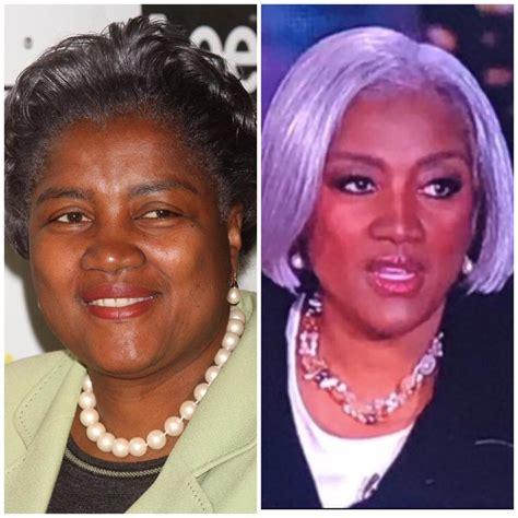 Donna Brazile's Electionnight Makeover Has Social Media