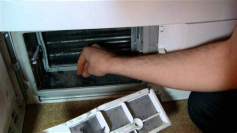 clean  heat pump condenser  filters