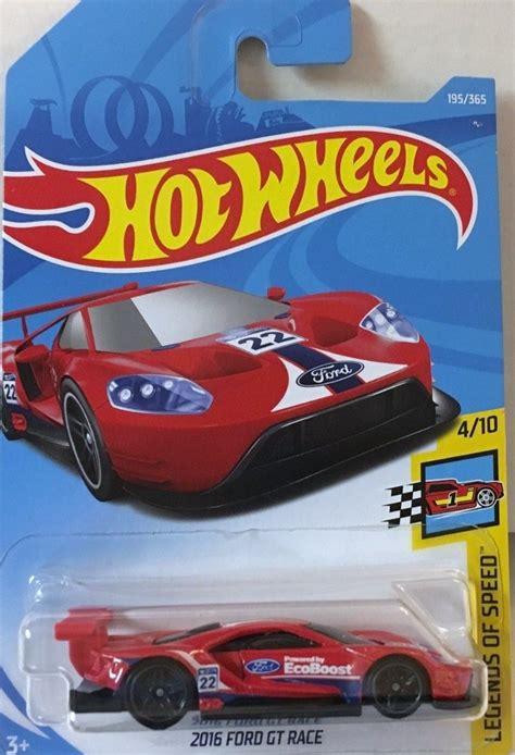 Hotwheels 2016 Ford Gt Race hotwheels 2016 ford gt race 195 2018 rojo 50 00 en