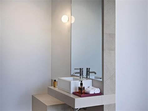 opal glass wall light mini glo cw by flos design