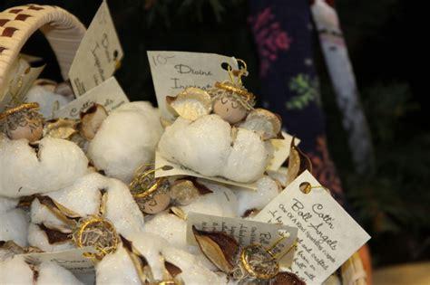 cotton boll angel ornaments craft ideas angel
