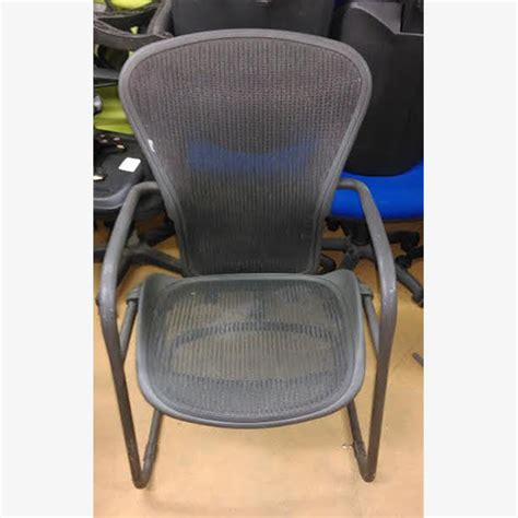 herman miller aeron meeting chairs used second
