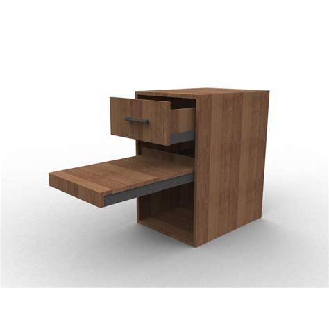 tablette coulissante bureau meuble à tiroir et tablette coulissante sur mesure