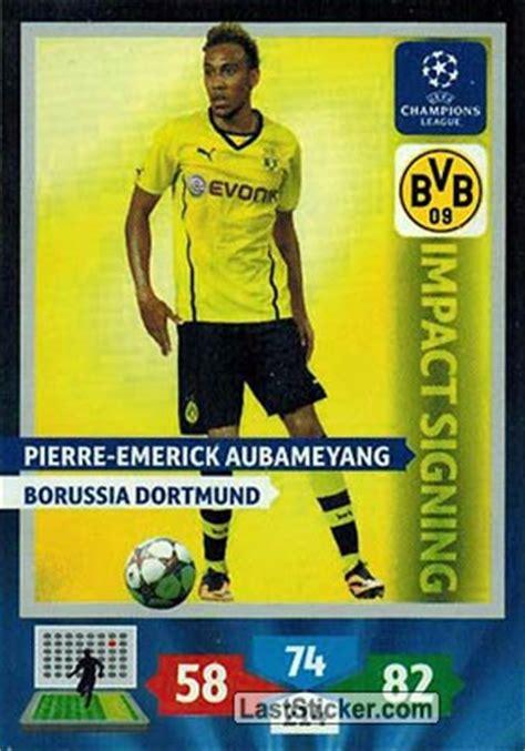 Card 270: Pierre-Emerick Aubameyang - Panini UEFA ...