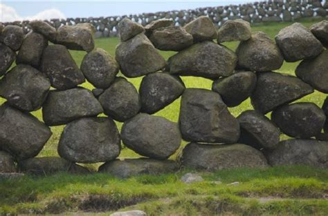 Stacked Stone Wall Ireland