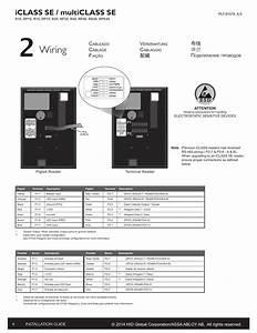 Wiring  Iclass Se    Multiclass Se   U914d U7dda  U5e03 U7ebf  Ubc30 Uc120  U043f