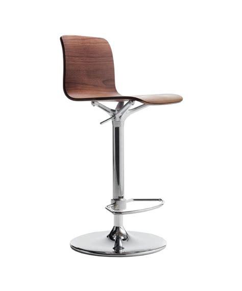 tabouret de bar design personnalis 233 en bois et acier bebo sh