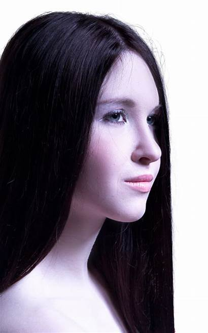 Hair Straight Woman Healthy Female Young Pngpix
