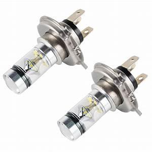 100w Led Headlight Bulbs For Yamaha Grizzly 300 550 700