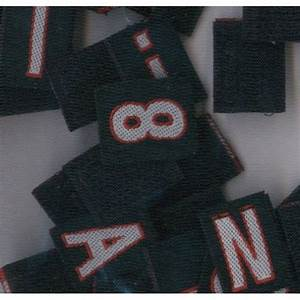 velcro letter single With velcro letters