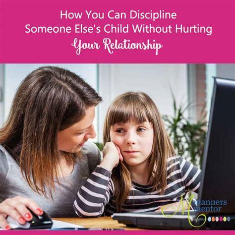 discipline  elses child