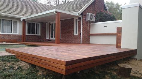backyard wood deck contemporary design wooden patio deck ideas chocoaddicts