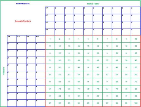 football squares template 19 football pool templates word excel pdf free premium templates