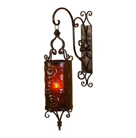 wrought iron candle wall sconces large wall candle sconces