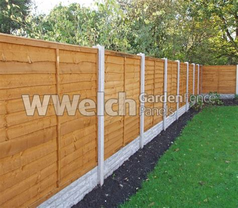 wood fence post waney fencing panels fencing