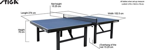 what are the dimensions of a table tennis table table tennis court dimensions www pixshark com images