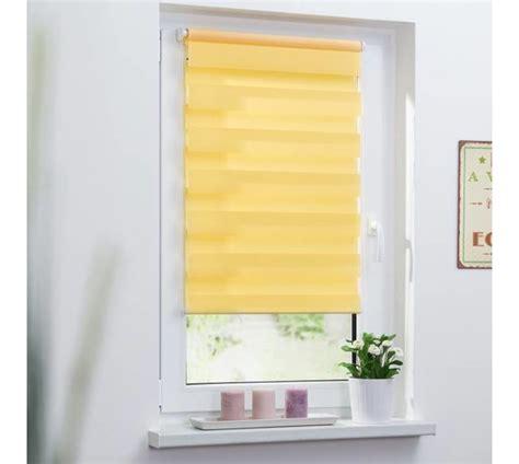 doppelrollo gelb 70x150 cm g 252 nstig bei wohnfuehlidee