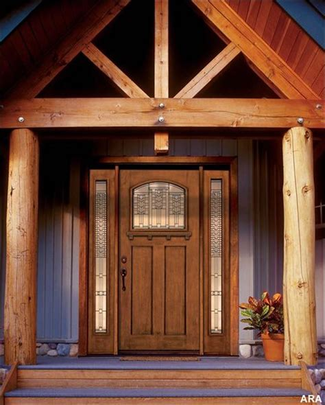 wake up a tired front entry with a new front door toledo blade