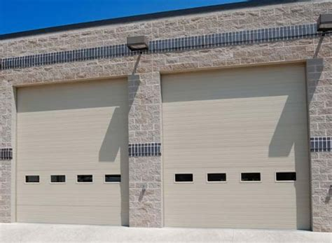 commercial garage door with door commercial overhead garage doors hayward wi fuller