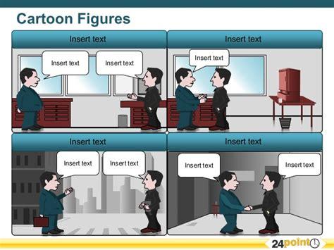 Editable Cartoon Strip For Powerpoint